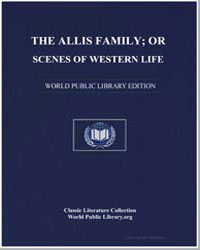 The Allis Family; Or, Scenes of Western ... by Aristotle