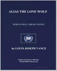 Alias the Lone Wolf by Vance, Louis Joseph