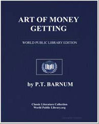 Art of Money Getting by Barnum, Phineas Taylor