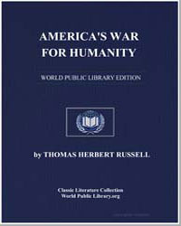 America's War for Humanity by Russell, Thomas Herbert