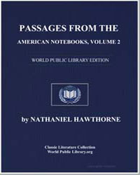 Passages from the American Notebooks, Vo... by Hawthorne, Nathaniel
