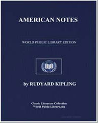 American Notes by Kipling, Rudyard