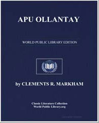 Apu Ollantay by Markham, Sir Clements R.