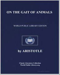 On the Gait of Animals by Aristotle