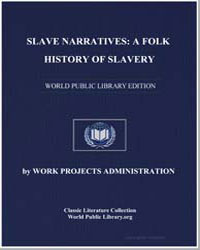 Slave Narratives : A Folk History of Sla... by Ball, Andrea