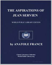 The Aspirations of Jean Servien by France, Anatole