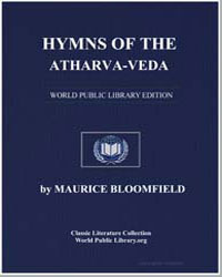 Hymns of the Atharvaveda by Bloomfield, Maurice