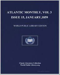 Atlantic Monthly, Volume 3, Issue 15, Ja... by Hutchinson, Joshua