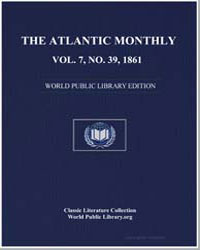 The Atlantic Monthly Volume 7, No. 39, J... by Hutchinson, Joshua