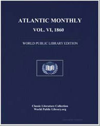 Atlantic Monthly, Vol. Vi., October, 186... by Hutchinson, Joshua
