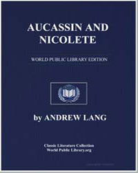 Aucassin and Nicolete by Lang, Andrew, M. A.