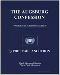 The Augsburg Confession by Melanchthon, Philip