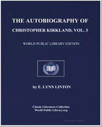 The Autobiography of Christopher Kirklan... by Linton, Elizabeth Lynn