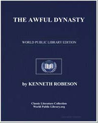 The Awful Dynasty by Robeson, Kenneth