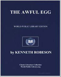 The Awful Egg by Robeson, Kenneth