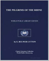 The Pilgrims of the Rhine by Lytton, Edward Bulwer