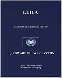 Leila by Lytton, Edward Bulwer