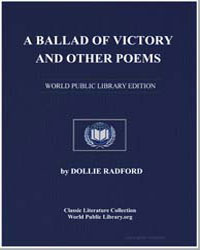 A Ballad of Victory and Other Poems by Radford, Dollie