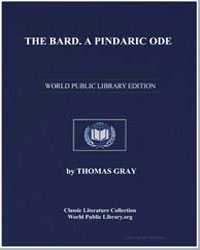 The Bard. A Pindaric Ode by Gray, Thomas