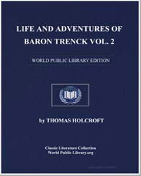 Life and Adventures of Baron Trenck Vol.... by Holcroft, Thomas