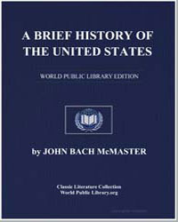 A Brief History of the United States by Mcmaster, John Bach