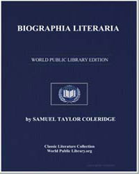 Biographia Literaria by Coleridge, Samuel Taylor