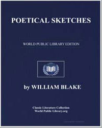 Poetical Sketches by Blake, William
