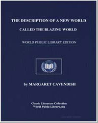 The Description of a New World, Called t... by Cavendish, Margaret