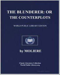 The Blunderer : Or, The Counterplots by Franks, Charles