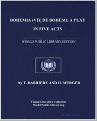 Bohemia (Vie de Bohem) : A Play in Five ... by Barriere, Théodore