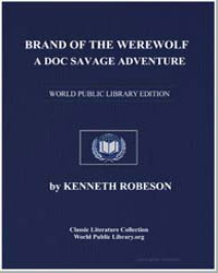 Brand of the Werewolf by Robeson, Kenneth