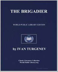 The Brigadier and Other Stories : On the... by Turgenev, Ivan