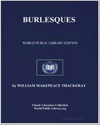 Burlesques by Thackeray, William Makepeace