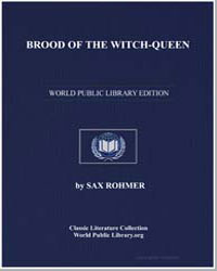 Brood of the Witchqueen by Rohmer, Sax