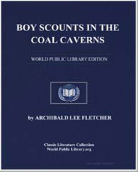 Boy Scounts in the Coal Caverns by Lee Fletcher, Major Archibald