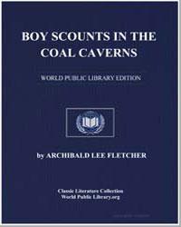 Boy Scounts in the Coal Caverns by Lee Fletcher, Major Archibald