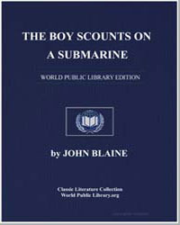 The Boy Scounts on a Submarine by Blaine, John, Captain