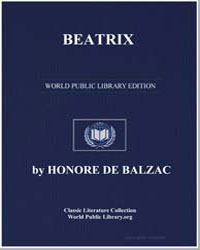 Beatrix by De Balzac, Honore
