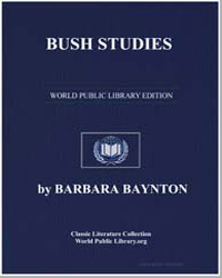 Bush Studies by Baynton, Barbara