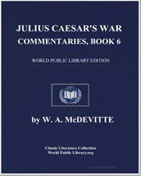 Julius Caesar's War Commentaries by Mcdevitte, W. A.