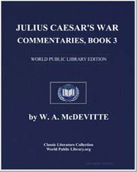 Julius Caesar's War Commentaries by Mcdevitte, W. A.