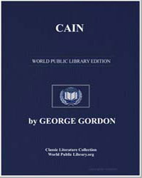 Cain by Byron, George Gordon, Lord