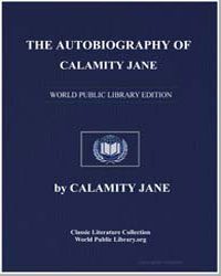 The Autobiography of Calamity Jane by Jane, Calamity