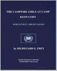 The Campfire Girls at Camp Keewaydin by Frey, Hildegard G.