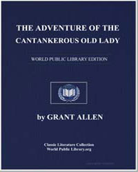 The Adventure of the Cantankerous Old La... by Allen, Grant