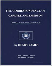 The Correspondence of Carlyle and Emerso... by James, Henry