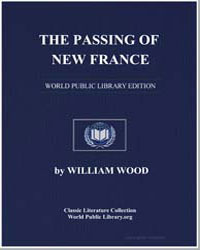 The Passing of New France by Wood, William