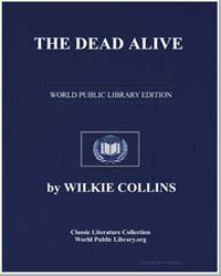 The Dead Alive by Collins, Wilkie