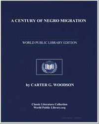A Century of Negro Migration by Woodson, Carter G.