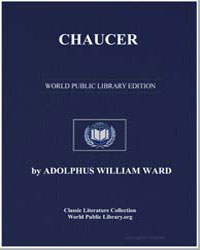 Chaucer by Ward, Adolphus William, Sir